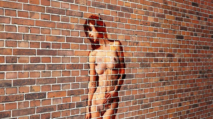 Simulacion de graffiti Graffiti Wall Digital Art