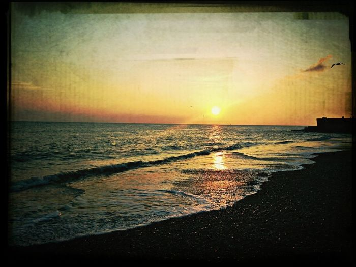 Coastal Splendour Sea Sunset Coastline Eye4photography