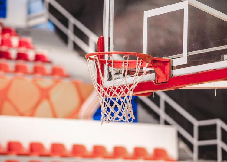 Basketball hoop at court