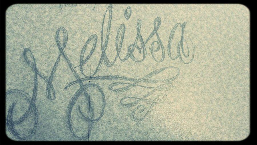 melissa Typography