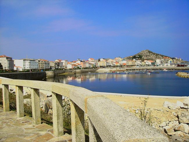 No People Sky Sea High Angle View Scenics Water Galicia, Spain Muxía
