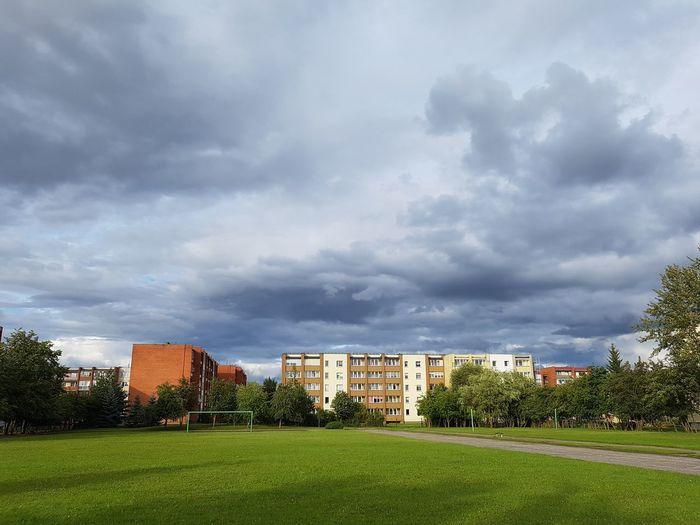 Sky And Clouds Storm Cloud Stadium City Pakruojis