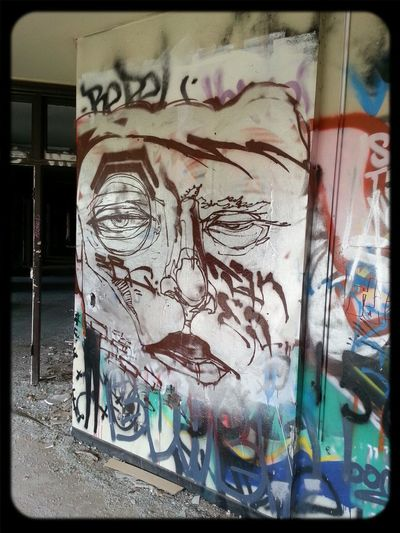 Derelict mental asylum Urbexexploring Abandoned Places Graffiti by georg