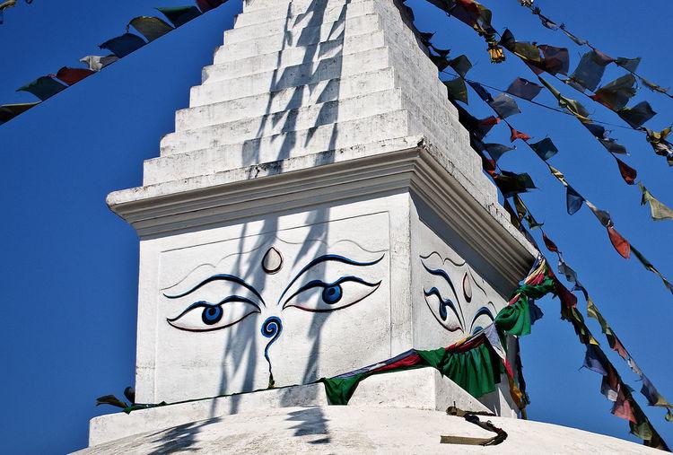 Boudanath Stupa Kathmandu Nepal Stupa Tibetan Buddhism Architecture Buddhism Building Exterior Built Structure Decoration No People Outdoors