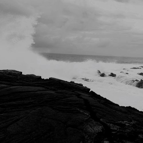 Rough sea Nature Naturelovers Black & White Strong Powerful Power Waves Wave Ocean Water Sea Nature Beauty In Nature Scenics No People Outdoors Tranquil Scene Rock - Object Tranquility Wave Power In Nature Day