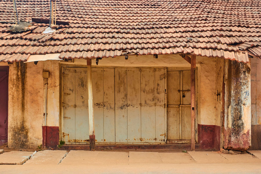 Architecture Architecture Building Exterior Built Structure Closed Day Door House India Manipal No People Old Old Buildings Old Fashioned Pattern, Texture, Shape And Form Protection Residential Structure Roof Udupi Wall Wall - Building Feature Window Wood - Material Showcase April