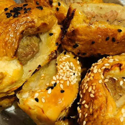 Sausage Sausage Roll Sausageroll Sausage Rolls! Pastry Food Close-up No People Food And Drink Homemade Carbohydrate - Food Type Comfort Food Ready-to-eat