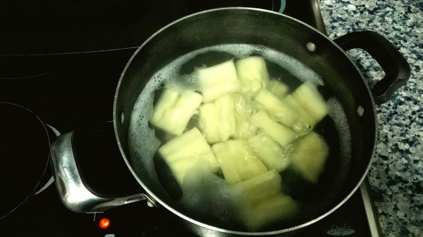 Cooking Vegan Yuca Yucca Vegetarian Food Boiled Vegetables Healthy Food Diet Superalimento Superfood Paleodiet Carbs Protein