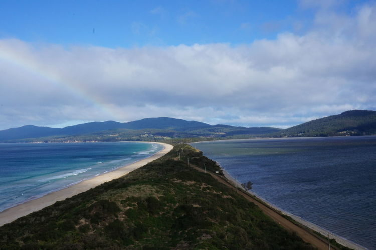 Infinite Possibilities Bruny Island Tasmania Facing South Lookout Point Awesome Landscape