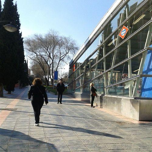 Estacion de metro. Leganés Madrid