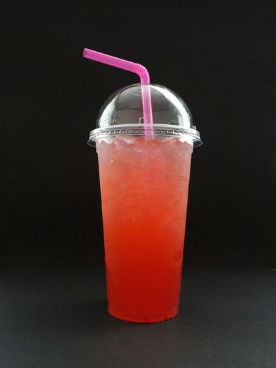 italian soda Drink Food And Drink Refreshment Glass Food Studio Shot Drinking Glass Straw Black Background Household Equipment Drinking Straw Indoors  Disposable Freshness No People Close-up Italian Soda