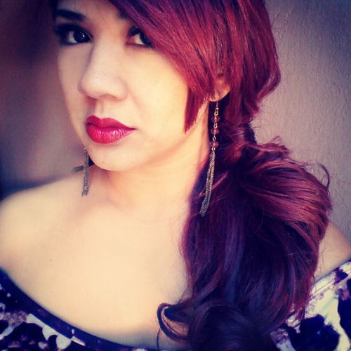 Beautiful Redlips Stylehair Makeup