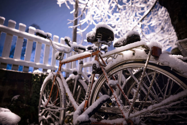 Icey bicycle with a lot of snow City Ice Icey Snow ❄ Winter Winter Sky Winter Is Coming Winter Landscape Winter Sport Winterscapes Wintertime Bicycle,bikes Bike Bikes Landscape Landside Ride Snow Snowing Winter Time Winter Trees Winter Wonderland Winter_collection Winteriscoming Winterwonderland