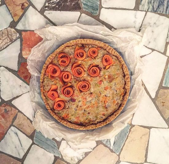 Quiche Floor Vintage Food High Angle View Healthy Eating Freshness No People Indoors  Temptation Close-up Ready-to-eat Day