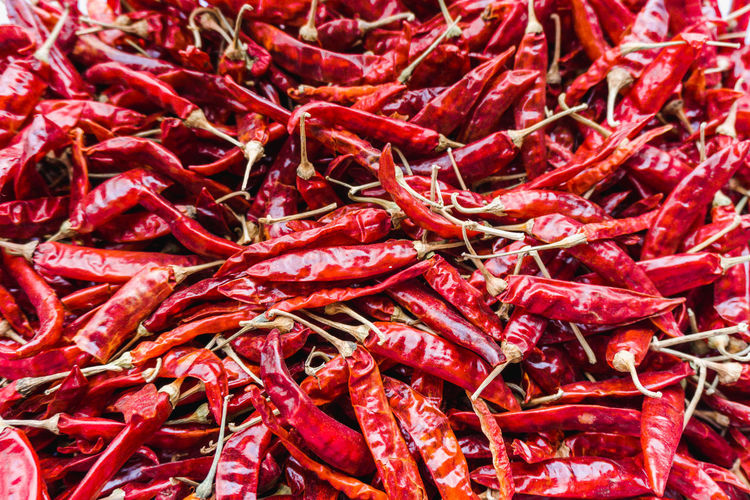 Abundance Backgrounds Chili Pepper Close-up Dried Food Food Food And Drink For Sale Freshness Full Frame Large Group Of Objects Market No People Pepper Red Red Chili Pepper Spice Still Life Vegetable Wellbeing