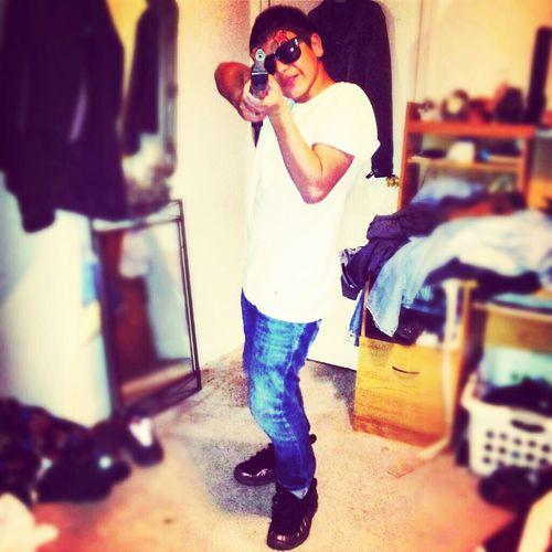 I Keep That Strap!!
