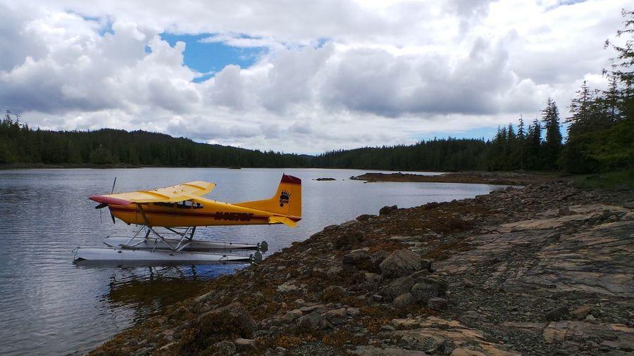 Alaska Alaskanadventures Cloud Outdoors Remote Sea Sea Plane Tranquil Scene Tranquility Vacations Voyage Water Waterfront