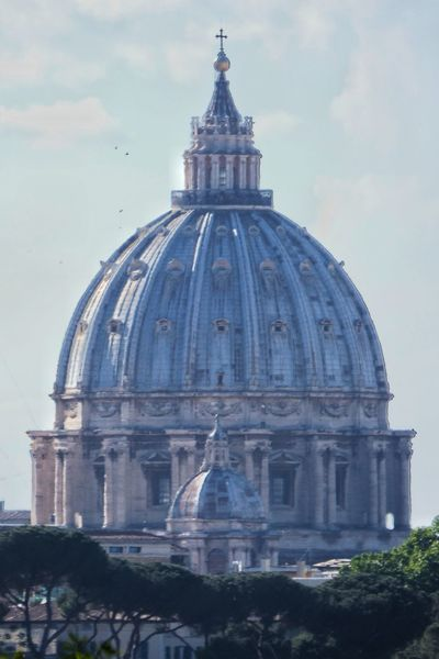 Dome Architecture Built Structure No People Building Exterior City Day Rome Italy🇮🇹 Saint Peter's Basilica Vatican City Michelangelo Buonarroti Your Ticket To Europe