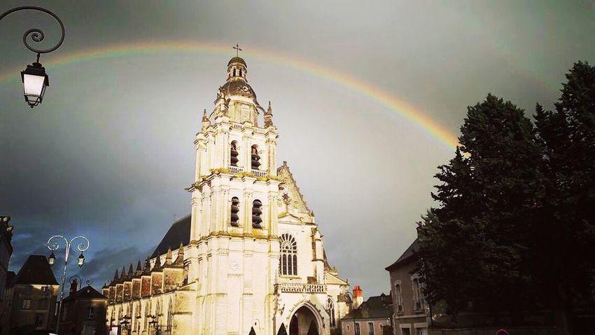 Arc-en-ciel 🌈 First Eyeem Photo Rainbow Colors Sky Blois France 🇫🇷 Arc-en-ciel 🌈