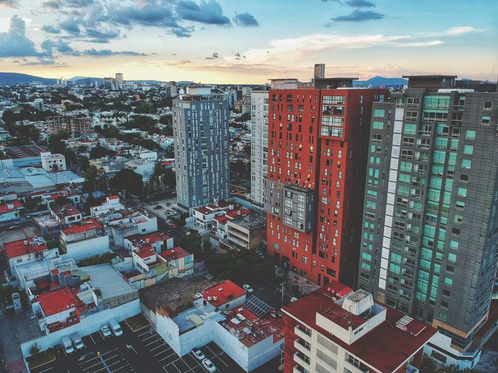 Jalisco Guadalajara Building Exterior Architecture Built Structure Building Sky City Cityscape Cloud - Sky Residential District Day Outdoors Landscape