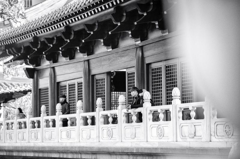 The Street Photographer - 2017 EyeEm Awards Temple Real People Buddhism Place Of Worship Spirituality Religion China Shanghai