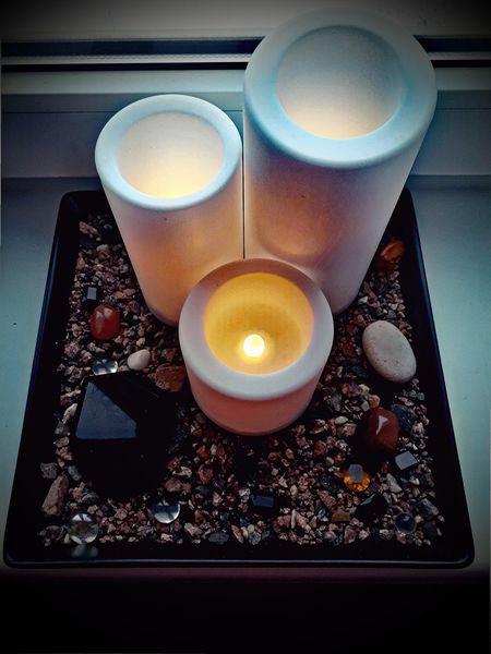 декор свечи электросвечи камни дзен Candles Stones Cosines Decoration Ikea Design Lieblingsteil