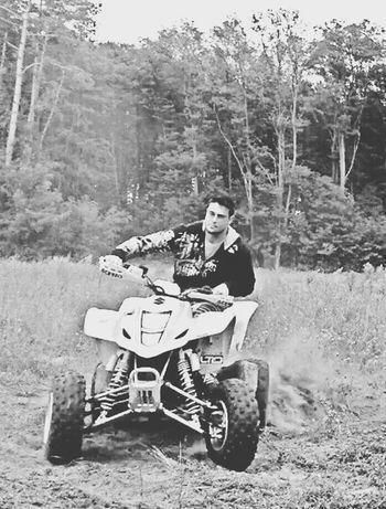 Suzuki ATV Ride Quad Riding Relaxing