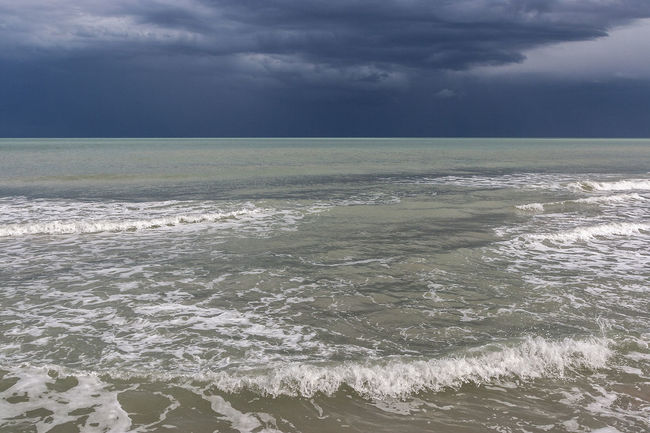 Seascape 15 Amazing Alicante Babilonia Beach Cloudy Day Composition Mediterranean Sea Panoramic View Stormy Weather Tranquility Wave Winter In Alicante Background Beauty In Nature Blue Day Guardamar Del Segura  Horizon Line Horizon Over Water No People Outdoors Scenics - Nature Seascape Seaside Seaview Stormy Sky Travel Destination