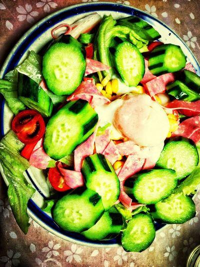 i love vegetables salad