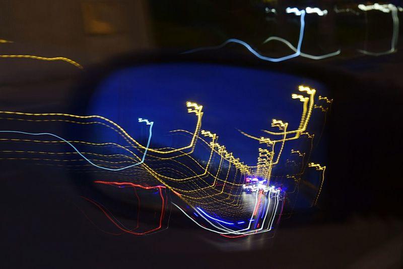 Speed🚔 Speed MistAke_Arts Mistakes Happen Driving Around Nightphotography Long Exposure