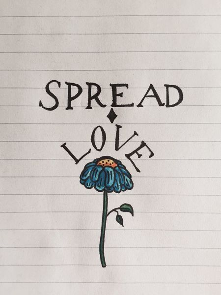 Spread Love all over the world. First Eyeem Photo Painting Selfmade Selfmade Artwork Meaningful  Important Spreadlove Flowers Love Allthesame First Eyeem Photo