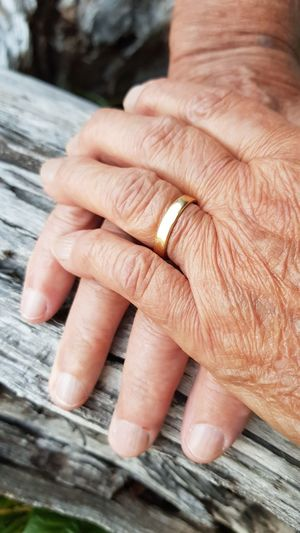 History Married Love ♥ Old Hands Forever Love Human Hand Senior Adult Close-up EyeEmNewHere