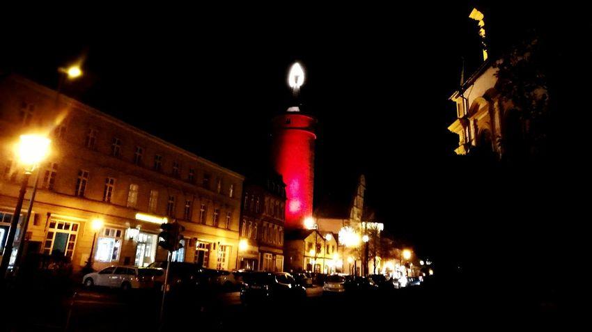 Bigcandle Illuminated Night Architecture Outdoors