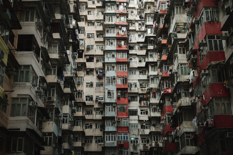 The Architect - 2018 EyeEm Awards Abundance Apartment Architecture Backgrounds Balcony Building Building Exterior Built Structure Choice City Day Full Frame In A Row Large Group Of Objects No People Outdoors Residential District Side By Side Variation Window