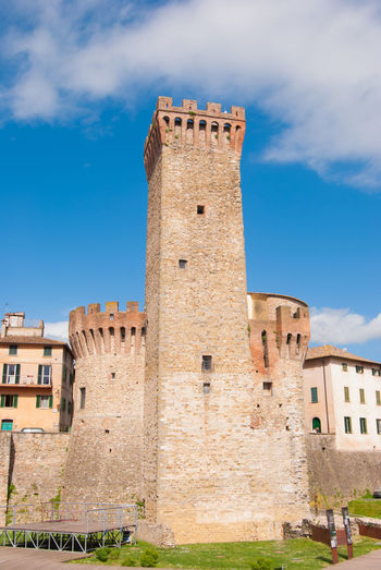 Umbria, Italy Ancient Ancient Civilization Architecture Blue Building Building Exterior Built Structure Clock Cloud - Sky Day Fort Fortified Wall History Nature Old Outdoors Ruined Sky The Past Tourism Tower Travel Travel Destinations Umbertide
