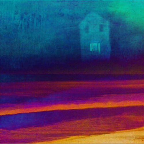 Night Moves - Recently added a surveillance camera to my property to track a stalker. So, of course I needed to play with an image from it. Street Photography Inverted Surveillance Camera Telling Stories Differently Building Exterior Nightphotography Night Photography Night View Amcrest Taking Photos Showing Imperfection Night Stalker