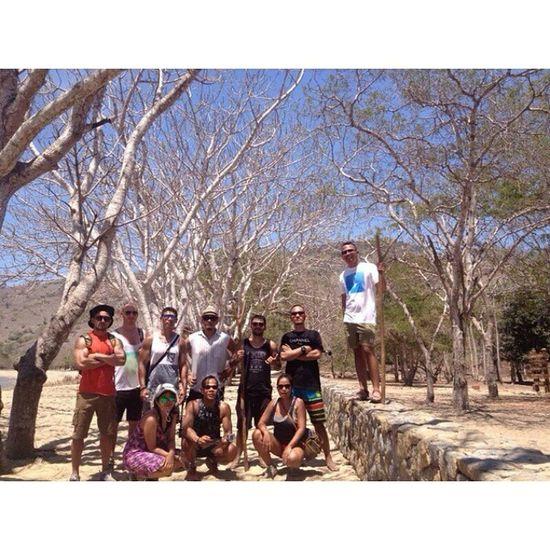 Komodo National Park. Trekking Komodo Island Labuanbajo indonesia