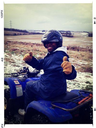 Snowy Stag Quad Biking