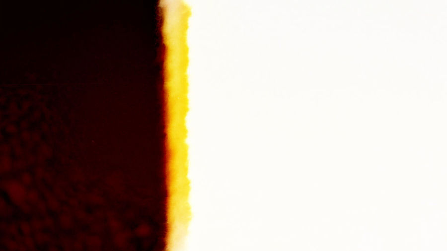 Blur Abstract Half of the image cut off from light effect for film.Designed film texture background. Pattern Red Yellow Vintage Wallpaper Textured  Texture Template Surface Striped Slide Space Retro Old Negative MOVIE Film Film Photography Design Effact Material Exposure Analog Art Camera
