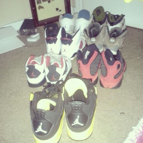 Not All But These Are My Favorite Shoes .. Harbors, Breds, Violets, Mars, Cool Grey, Thunders