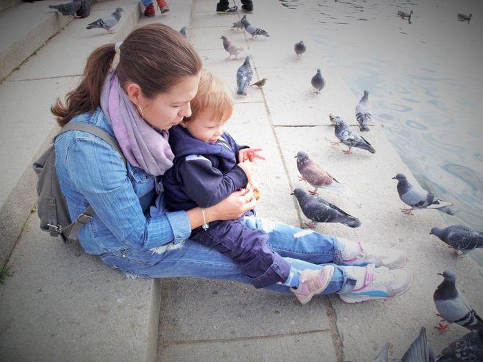 Daniil + mama