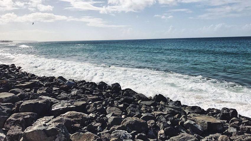 Playa, Beach🏝 Sea Outdoors Beach Horizon Over Water No People Scenics Water Sky Nature Tranquil Scene Travel Vacations Picoftheday Love EyeEm Best Shots