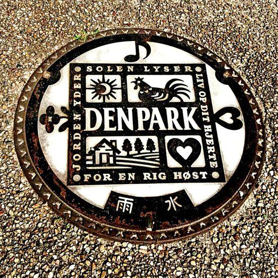 Japan Park Theme Park Manhole  Manholecover デンパーク