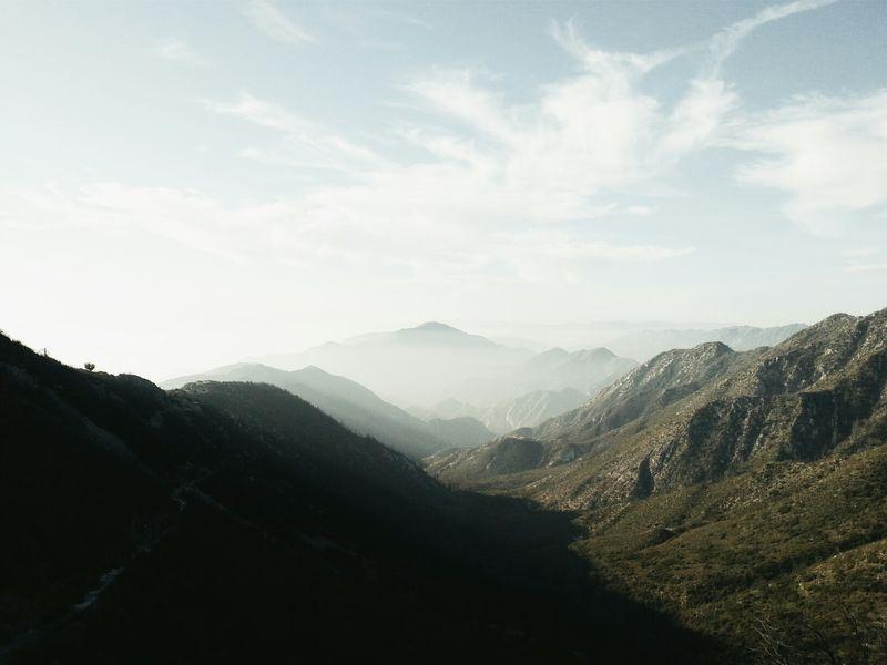 Low Range • San Gabriel Mountains Landscape Mountains Fltrlive Vscocam