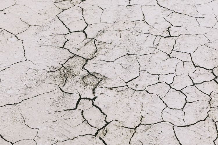 Cracky Road Global Warming Arid Climate Backgrounds Summer Desert Textured  Full Frame Bad Condition Drought Breaking Depression Decline Wilted Dried Wilted Plant Discarded Worn Out Tensed Heat Arid Environmental Damage Soil Geology Natural Disaster Climate Fire Rugged