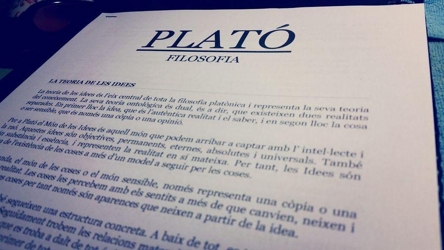 Platon FILOSOPHY