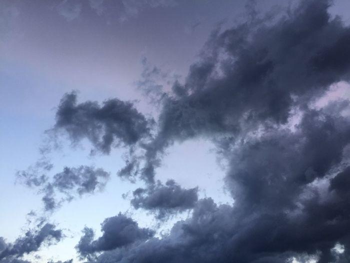 Cloud - Sky Sky Blue No People