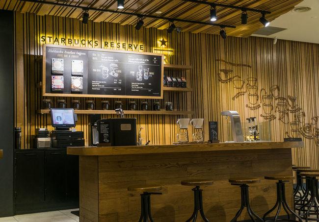 Breakfast Caffeine Coffee Refreshment Starbucks Coffee Starbucks Reserve Cafe Interior Restaurant Starbucks Tumbler