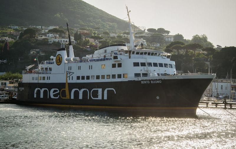 Ferry Naples Ferryboat Ischia Mode Of Transport Nautical Vessel Sea Transportation Water Yacht