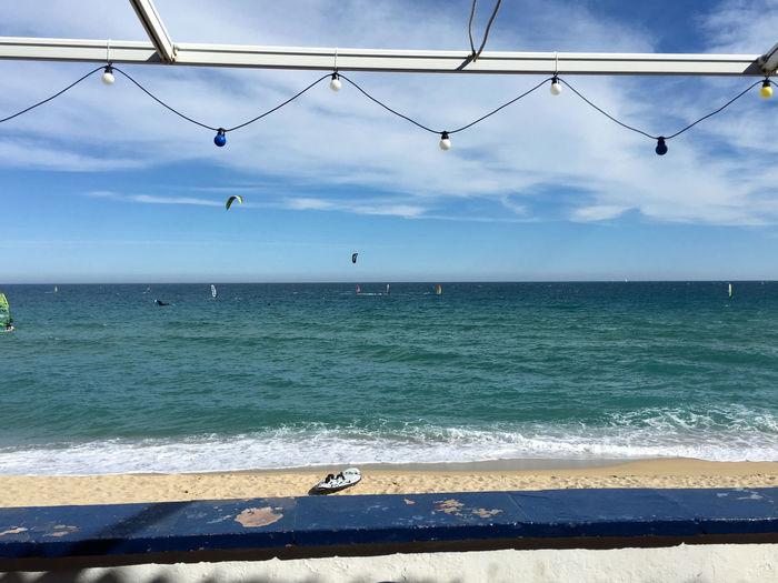 Beach Beach Restaurant Horizon Over Water Outdoors Scenics Sea Tranquil Scene Travel